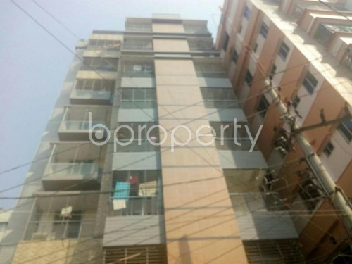 Front view - 3 Bed Apartment to Rent in Rampura, Dhaka - 1859509