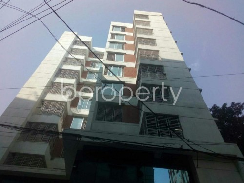 Front view - Shop to Rent in Malibagh, Dhaka - 1859511