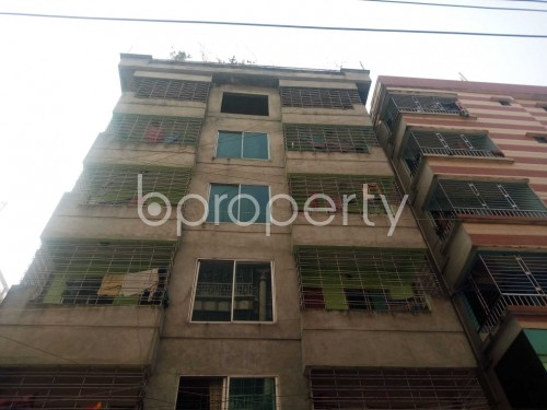 Outside view - 2 Bed Apartment to Rent in Nikunja, Dhaka - 1859545