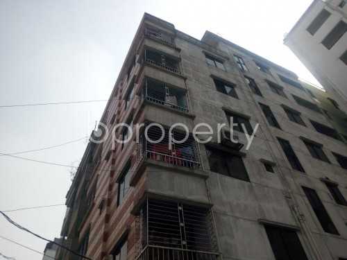 Outside view - 3 Bed Apartment to Rent in Nikunja, Dhaka - 1859546