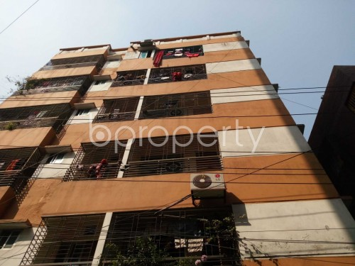 Outside view - 3 Bed Apartment for Sale in Maghbazar, Dhaka - 1859575