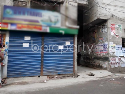 Front view - Shop to Rent in Lalbagh, Dhaka - 1859582