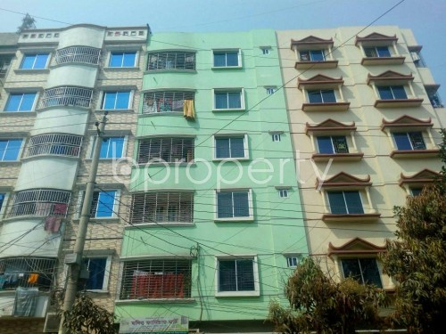Front view - 2 Bed Apartment for Sale in Mirpur, Dhaka - 1859701
