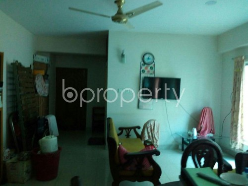 Dining area - 3 Bed Apartment to Rent in Adabor, Dhaka - 1859786