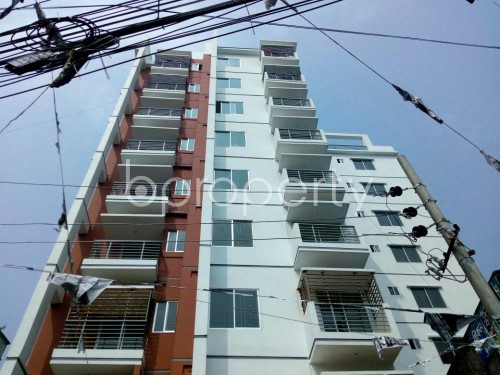 Front view - 2 Bed Apartment to Rent in Badda, Dhaka - 1859787