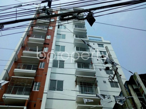 Front view - 2 Bed Apartment to Rent in Badda, Dhaka - 1859789