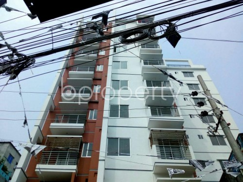 Front view - 2 Bed Apartment to Rent in Badda, Dhaka - 1859790