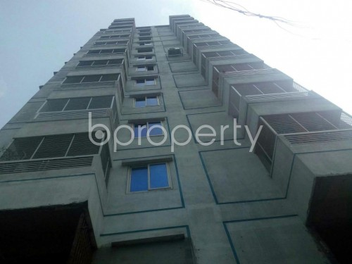 Front view - 4 Bed Apartment for Sale in Malibagh, Dhaka - 1859794