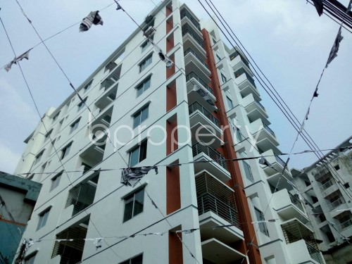 Outside view - 2 Bed Apartment to Rent in Badda, Dhaka - 1859805