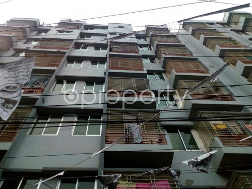 Front view - 2 Bed Apartment to Rent in Badda, Dhaka - 1859819