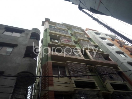 Outside view - 3 Bed Apartment to Rent in Badda, Dhaka - 1859836