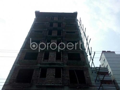 Front view - 3 Bed Apartment for Sale in Aftab Nagar, Dhaka - 1859861