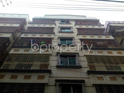 Front view - 3 Bed Apartment for Sale in Banasree, Dhaka - 1859865