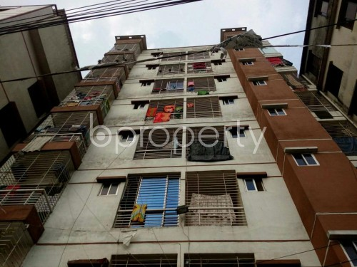 Front view - 3 Bed Apartment for Sale in Badda, Dhaka - 1859919
