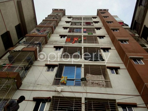 Front view - 3 Bed Apartment for Sale in Badda, Dhaka - 1859921
