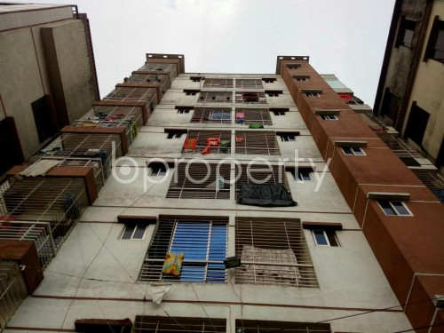 Front view - 3 Bed Apartment for Sale in Badda, Dhaka - 1859923