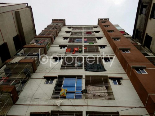 Front view - 3 Bed Apartment for Sale in Badda, Dhaka - 1859926