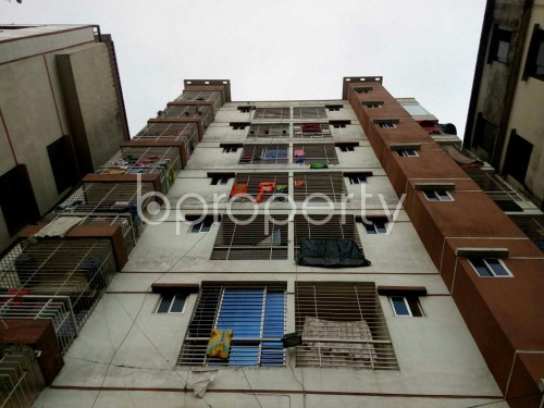 Front view - 3 Bed Apartment to Rent in Badda, Dhaka - 1859918