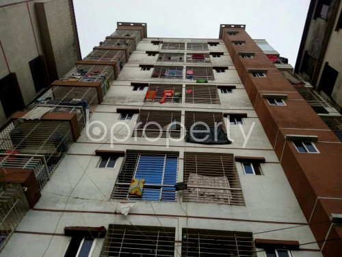 Front view - 3 Bed Apartment for Sale in Badda, Dhaka - 1859925