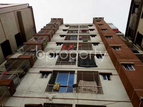 Front view - 2 Bed Apartment to Rent in Badda, Dhaka - 1859924