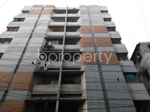 Front view - 3 Bed Apartment to Rent in Lalmatia, Dhaka - 1859935