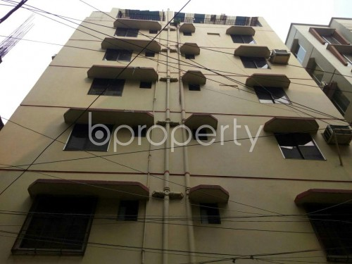 Front view - 3 Bed Apartment to Rent in Adabor, Dhaka - 1859998