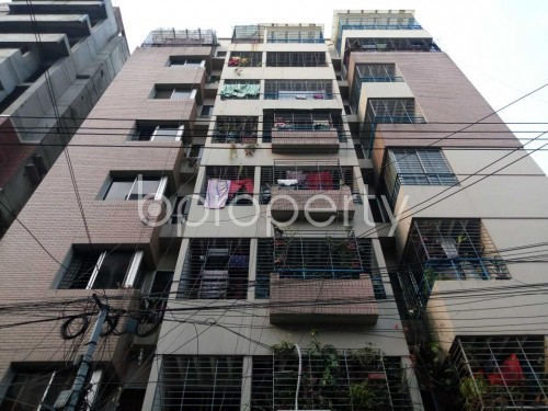 Front view - 3 Bed Apartment to Rent in Lalmatia, Dhaka - 1860024