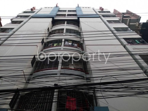 Front view - 3 Bed Apartment to Rent in Lalmatia, Dhaka - 1860033