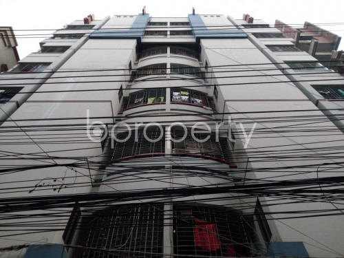 Front view - 3 Bed Apartment to Rent in Lalmatia, Dhaka - 1860034