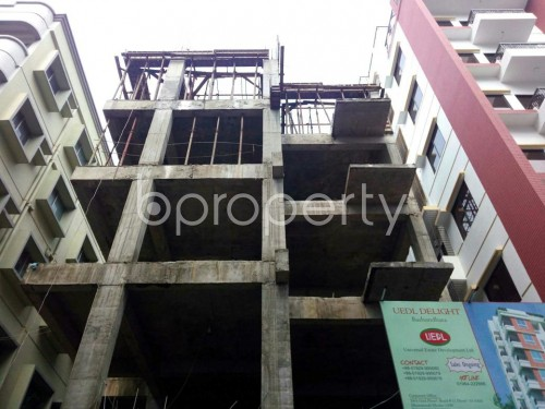 Front view - 3 Bed Apartment for Sale in Bashundhara R-A, Dhaka - 1860058