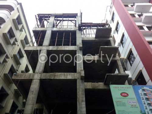 Front view - 3 Bed Apartment for Sale in Bashundhara R-A, Dhaka - 1860059