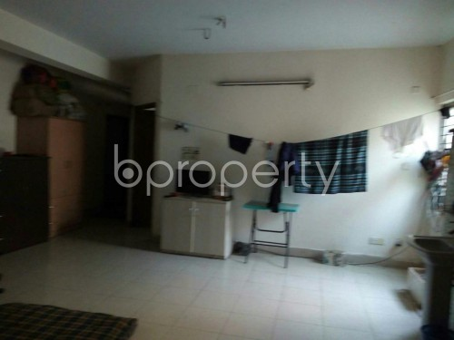 Dining area - 3 Bed Apartment to Rent in Adabor, Dhaka - 1860064