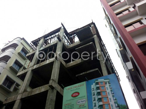 Outside view - 3 Bed Apartment for Sale in Bashundhara R-A, Dhaka - 1860060