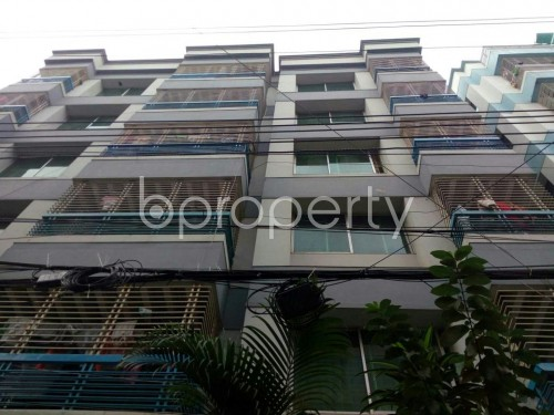 Front view - 3 Bed Apartment to Rent in Uttara, Dhaka - 1860113