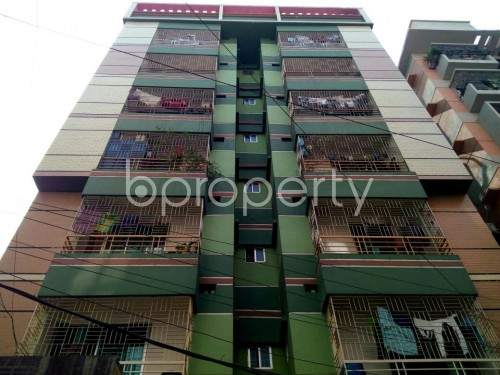 Front view - 3 Bed Apartment for Sale in Adabor, Dhaka - 1860136