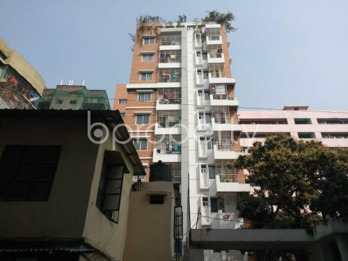 Front view - 3 Bed Apartment to Rent in Kathalbagan, Dhaka - 1860139