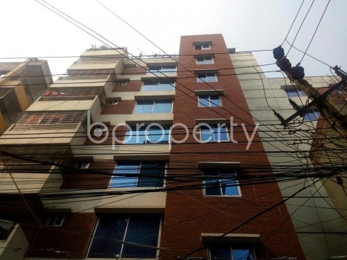 Front view - 3 Bed Apartment to Rent in Badda, Dhaka - 1860141