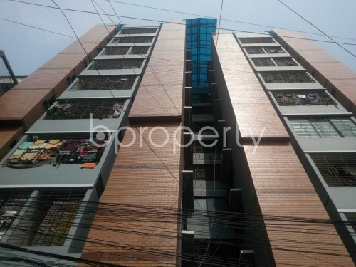 Front view - 3 Bed Apartment to Rent in Kathalbagan, Dhaka - 1860182