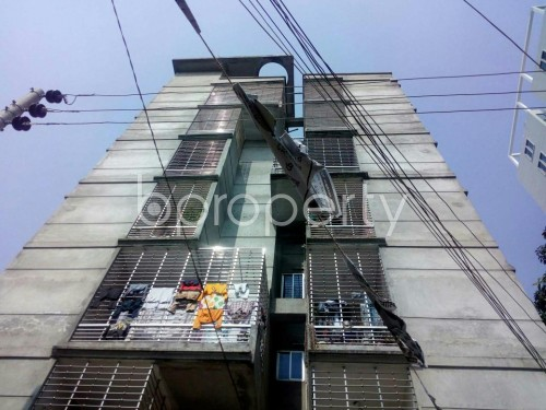Front view - 2 Bed Apartment to Rent in Badda, Dhaka - 1860262
