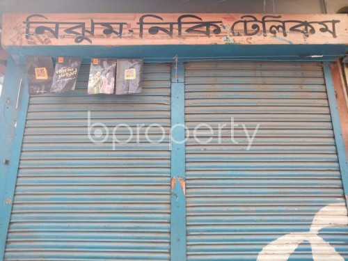 Front view - Shop to Rent in Bashabo, Dhaka - 1860284