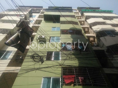 Front view - 3 Bed Apartment to Rent in Kathalbagan, Dhaka - 1860304