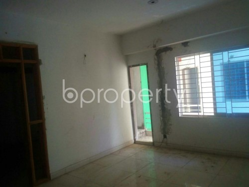 Empty Room - 3 Bed Apartment for Sale in Rampura, Dhaka - 1860235