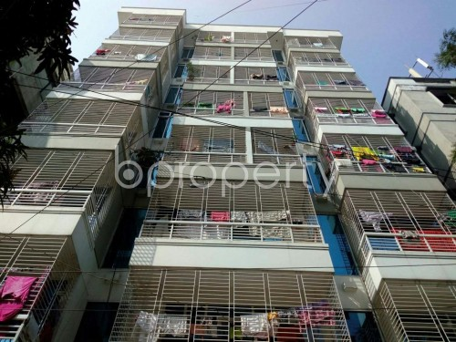 Front view - 3 Bed Apartment to Rent in Adabor, Dhaka - 1860318