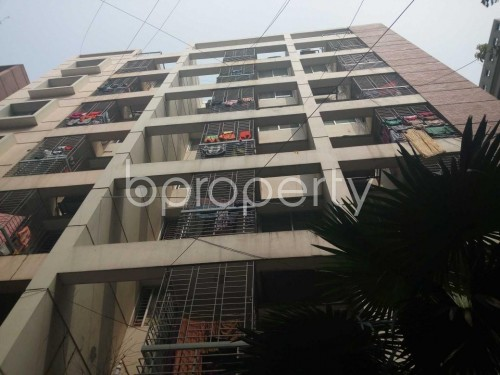 Front view - 3 Bed Apartment for Sale in Uttara, Dhaka - 1860343