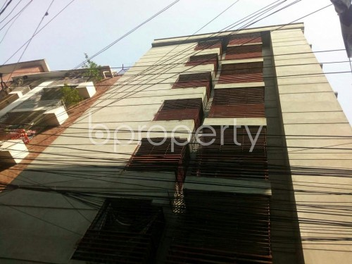 Front view - 2 Bed Apartment for Sale in Badda, Dhaka - 1860350