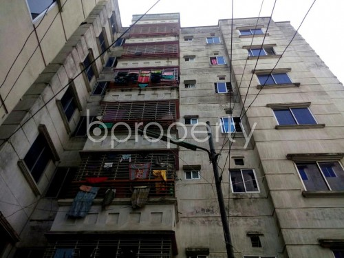 Front view - 2 Bed Apartment to Rent in Badda, Dhaka - 1860376