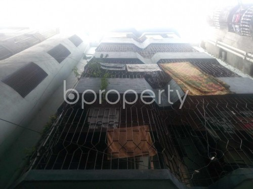 Front view - 2 Bed Apartment to Rent in Hatirpool, Dhaka - 1860434