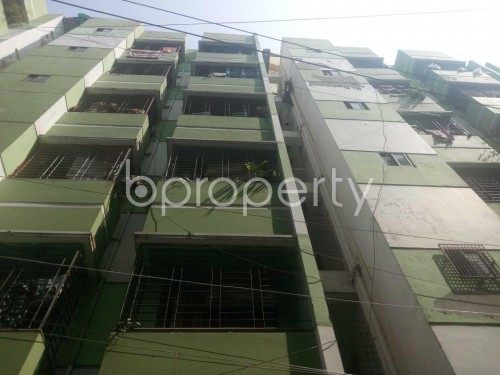 Front view - 2 Bed Apartment for Sale in Kathalbagan, Dhaka - 1860446