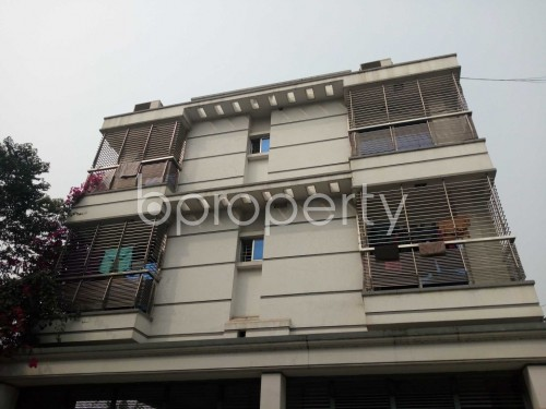 Outside view - 2 Bed Apartment to Rent in Nikunja, Dhaka - 1860447