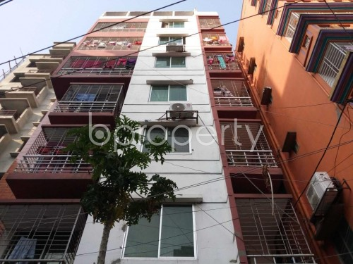 Front view - 2 Bed Apartment to Rent in Mirpur, Dhaka - 1860467